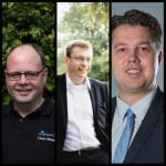 """vl. Claus Kissel (Kissel), Michael Köchy (T. Scharner) und Kevin Schiffer (SSF) – drei """"Neue"""" für die Verbandsgremien"""