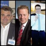 vl. Jürgen Bergmann (Zodiac Pool Deutschland), Bert Granderath (grando) und Armin Herger (Speck Pumpen) – drei erfahrene Kandidaten für den Vorstand