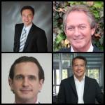 vl. Frank Eisele (WWS Eisele), Reiner Lietz (Kühling & Hauers), Cedrik Mayer-Klenk (Chemoform) und Markus Weber (Behncke) – vier bewährte Kandidtaten fürs Präsidium