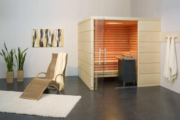 Wellnessraum zuhause  Sauna - bsw