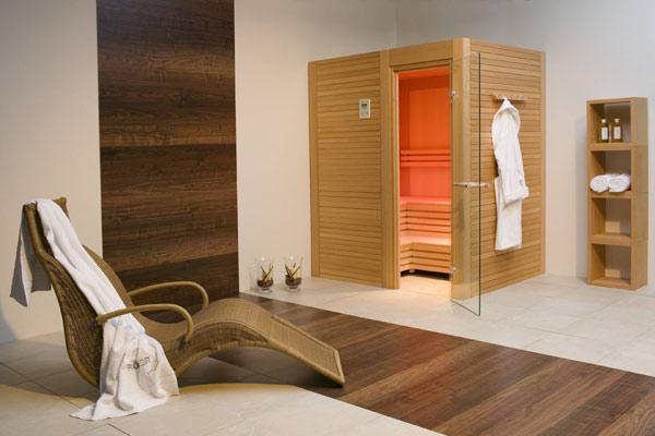 Wellnessraum einrichten  Sauna - bsw