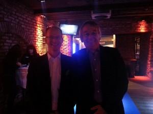 bsw-Präsident Dietmar Rogg (links) und bsw-Geschäftsführer Dieter C. Rangol begrüßten die aquanight-Gäste