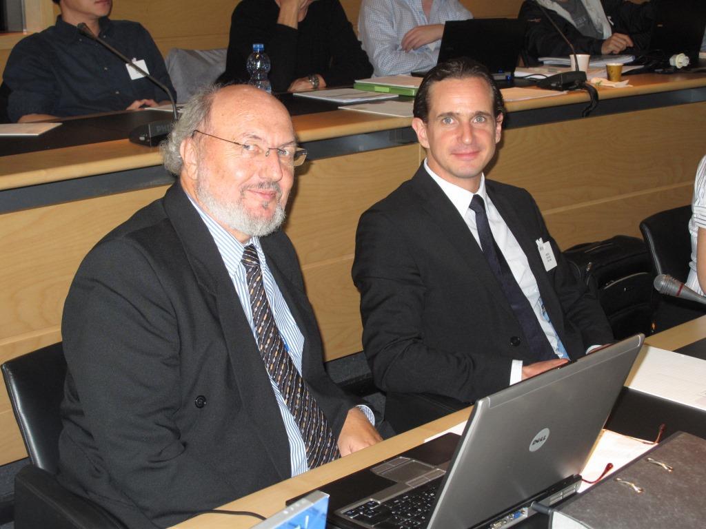 Werner Seiser (DLW) und Cedrik Mayer-Klenk (Chemoform)