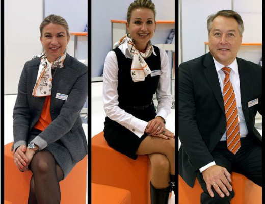 Das Behncke-Führungstrio heute: Stephanie Behncke-Weber, Caroline Behncke-Wild und Markus Weber
